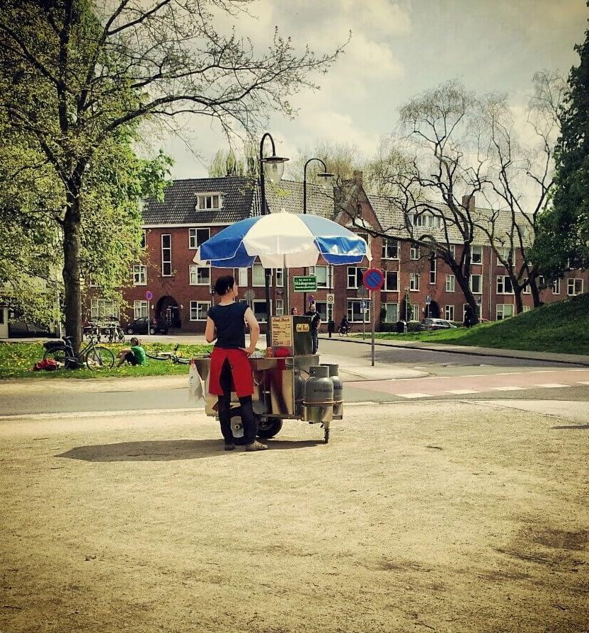 de Smulbus hotdogkraam huren Haarlem